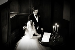 Lakeland Marriage at Dalston Hall - image by Derwent Photography